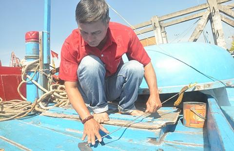 Làng 'rái cá' lặn biển Hoàng Sa - ảnh 1