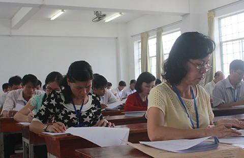 Thi tốt nghiệp THPT: Một số trường đã chấm xong môn trắc nghiệm - ảnh 1