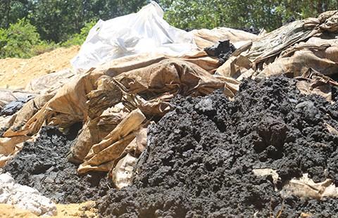 Đổ bậy đến 260 tấn chất thải của Formosa - ảnh 1