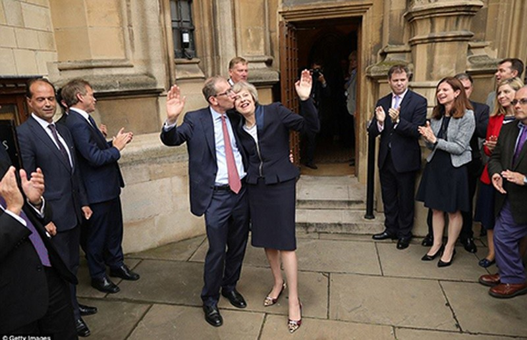 Theresa May, bà đầm thép thứ hai của Anh - ảnh 2
