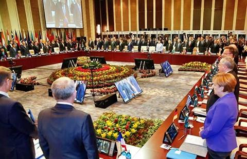Bất chấp Trung Quốc, Philippines nêu vấn đề biển Đông ở hội nghị ASEM - ảnh 1