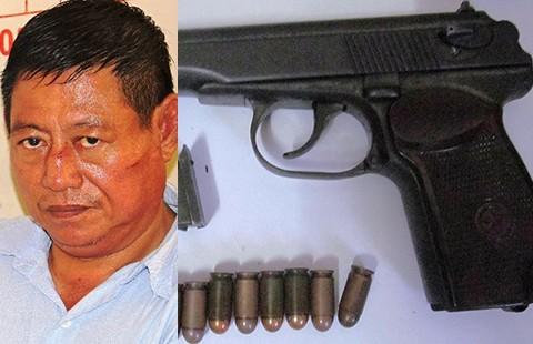 Vụ bắn chết chủ tiệm vàng: Một trung tá Campuchia sẽ bị xử lý theo luật VN - ảnh 1