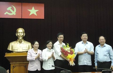 Ông Phạm Đức Hải nhận nhiệm vụ phó chủ tịch HĐND TP.HCM - ảnh 1