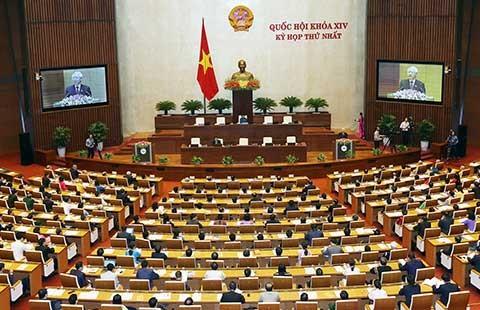 Formosa làm 'nóng' phiên khai mạc Quốc hội - ảnh 1