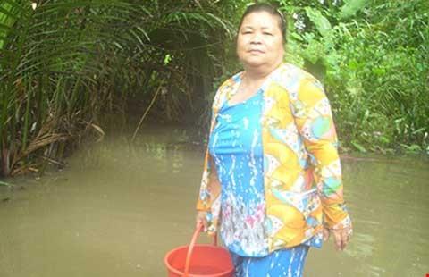 Cần Thơ: Sớm cung cấp nước sạch cho dân rạch Bà Máng - ảnh 1