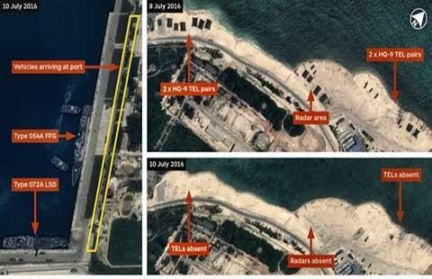 Trung Quốc đưa tên lửa rời đảo Phú Lâm? - ảnh 1
