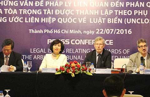 Hội thảo quốc tế đánh giá tác động vụ Philippines kiện Trung Quốc  - ảnh 1