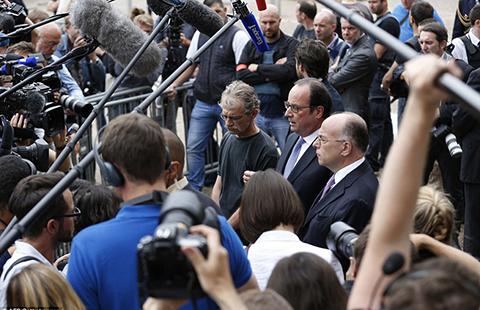 IS nhận trách nhiệm vụ sát hại linh mục tại Pháp - ảnh 1