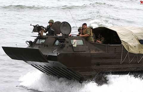 Tháng 9, Trung-Nga tập trận ở biển Đông - ảnh 1