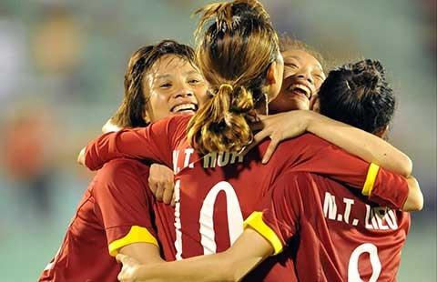 Đội tuyển nữ Việt Nam tranh nhất bảng với Thái Lan - ảnh 1