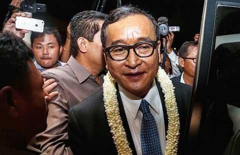 Ông Sam Rainsy nói xấu phải bồi thường - ảnh 1