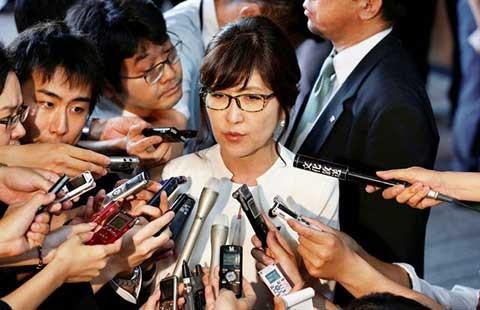 Một phụ nữ giữ chức bộ trưởng Quốc phòng Nhật - ảnh 1