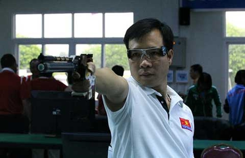 Đoàn thể thao Việt Nam: Chờ xạ thủ Hoàng Xuân Vinh đổi vận - ảnh 1