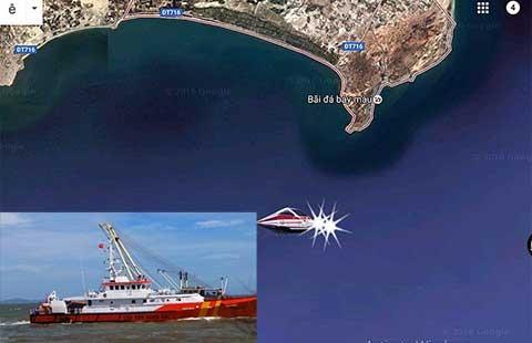Đưa thi thể thuyền trưởng trong vụ 2 tàu va nhau trên biển vào bờ - ảnh 1