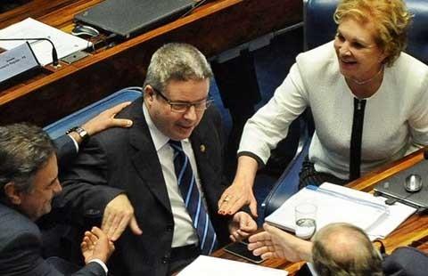 Ngày 25-8 khai mạc phiên tòa luận tội tổng thống Brazil - ảnh 1