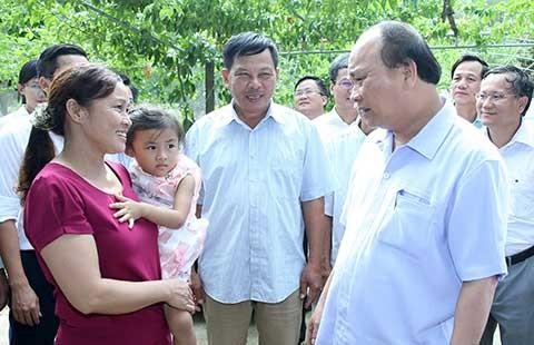 Thủ tướng: Cái gốc của nông thôn mới là đời sống người dân tốt hơn - ảnh 1