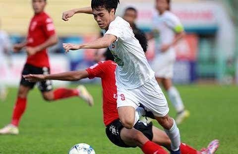 Vòng 21 V-League: Văn Toàn nhấn chìm Long An, Hải Phòng thua sốc - ảnh 1