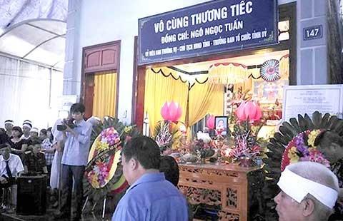 Bộ Công an chỉ đạo điều tra vụ bí thư và chủ tịch HĐND tỉnh Yên Bái bị bắn - ảnh 1