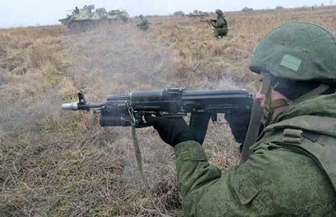 Lầu Năm Góc đánh giá Nga không đưa quân sang Ukraine - ảnh 1