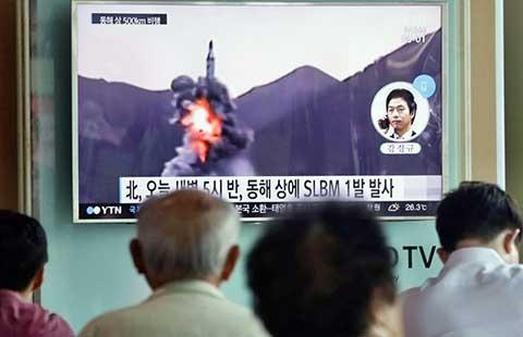 Tên lửa Triều Tiên bắn thử thành công  - ảnh 1