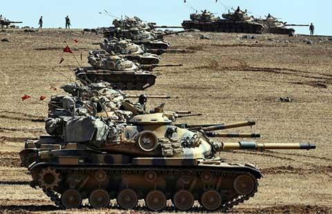 Thổ Nhĩ Kỳ mở chiến dịch 'Lá chắn sông Euphrates' - ảnh 1
