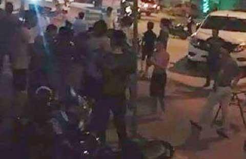 Giang hồ nổ súng khi dự khai trương quán của đại ca Hải Phòng - ảnh 1