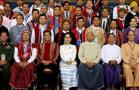 Myanmar khai mạc hội nghị hòa bình với các nhóm sắc tộc - ảnh 1