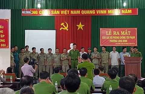 Đồng Nai có câu lạc bộ 'hiệp sĩ' đầu tiên - ảnh 1