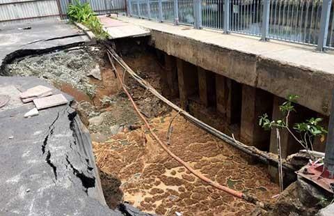 Hố tử thần ở kênh Nhiêu Lộc là do nhà thầu Trung Quốc! - ảnh 1