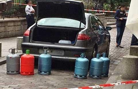 Tấn công khủng bố bằng xe chở bình gas ở thủ đô Paris? - ảnh 1