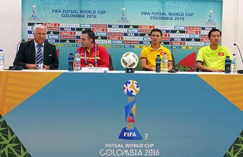 Mục tiêu của Futsal Việt Nam tại vòng chung kết World Cup  - ảnh 1