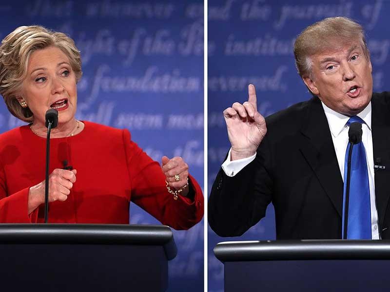Điểm chính cuộc tranh luận giữa bà Clinton và ông Trump - ảnh 1
