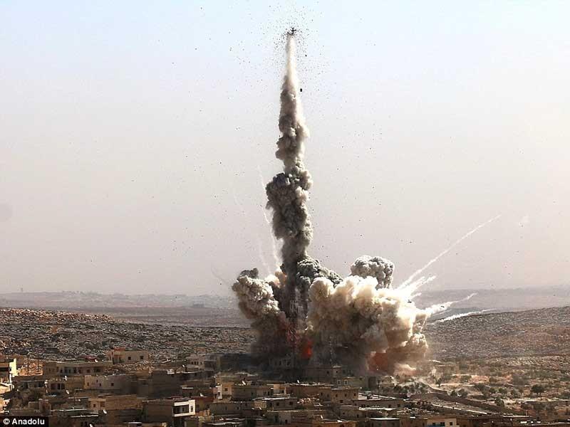 Hội đồng Bảo an LHQ bác 2 dự thảo nghị quyết về Syria - ảnh 1