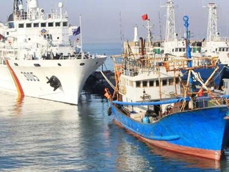 Cảnh sát biển Hàn Quốc được dùng vũ khí chặn tàu cá TQ - ảnh 1