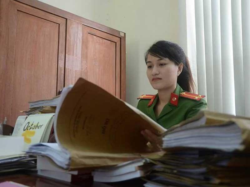 Nữ công an triệt phá 20 vụ án ma túy - ảnh 1