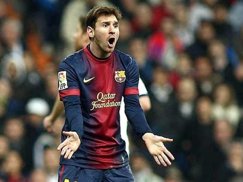Khi Messi nổi cáu - ảnh 1