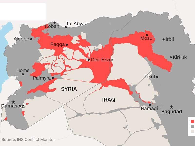 Mỹ cản Nga tham gia chiến dịch đánh Raqqa - ảnh 1