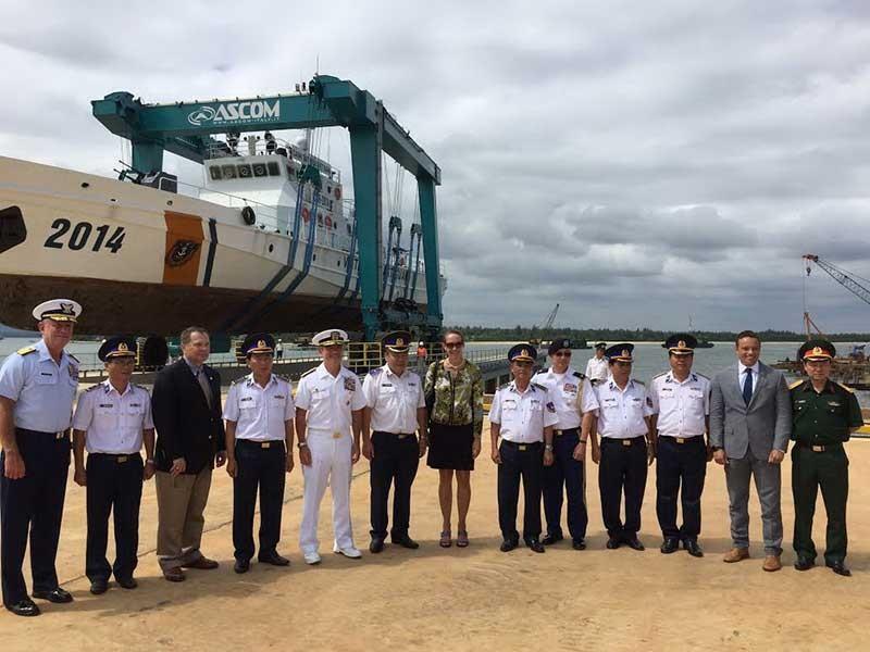 Khánh thành cơ sở sửa chữa, bảo dưỡng tàu cảnh sát biển - ảnh 1
