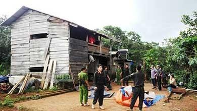 Vụ nổ súng 3 người chết ở Đắk Nông: Bị can ra đầu thú - ảnh 3