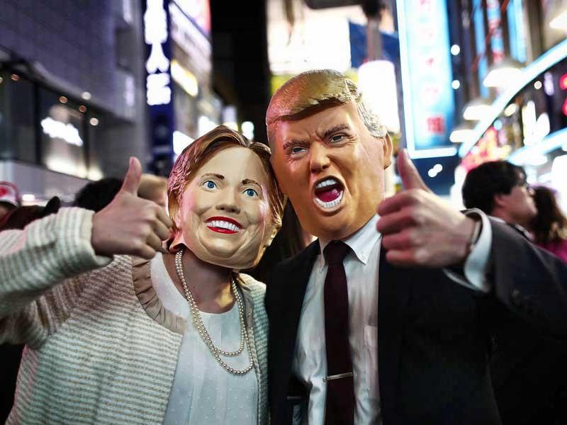 Bà Clinton giảm dần cách biệt với ông Trump - ảnh 1