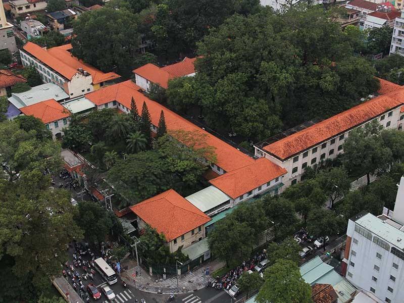 Gần 98 tỉ cải tạo Trường THPT Lê Quý Đôn - ảnh 2