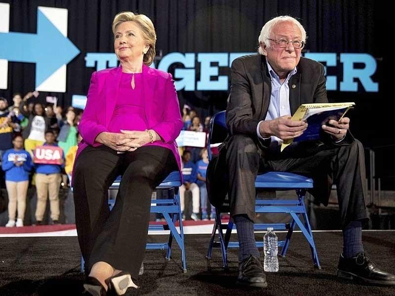Bà Clinton đang hơn ông Trump gần 80 phiếu đại cử tri  - ảnh 1