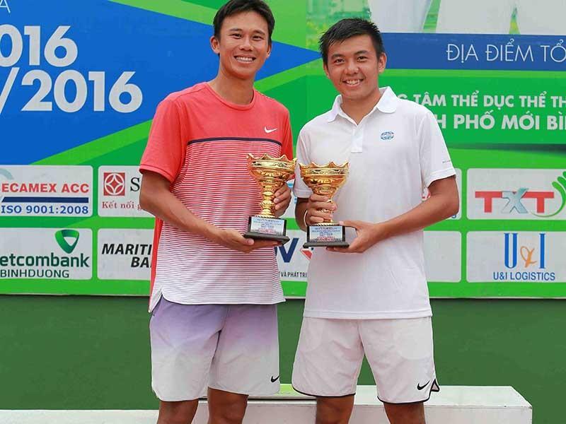 Đôi Lý Hoàng Nam - Chen Ti đăng quang ngôi vô địch  - ảnh 1