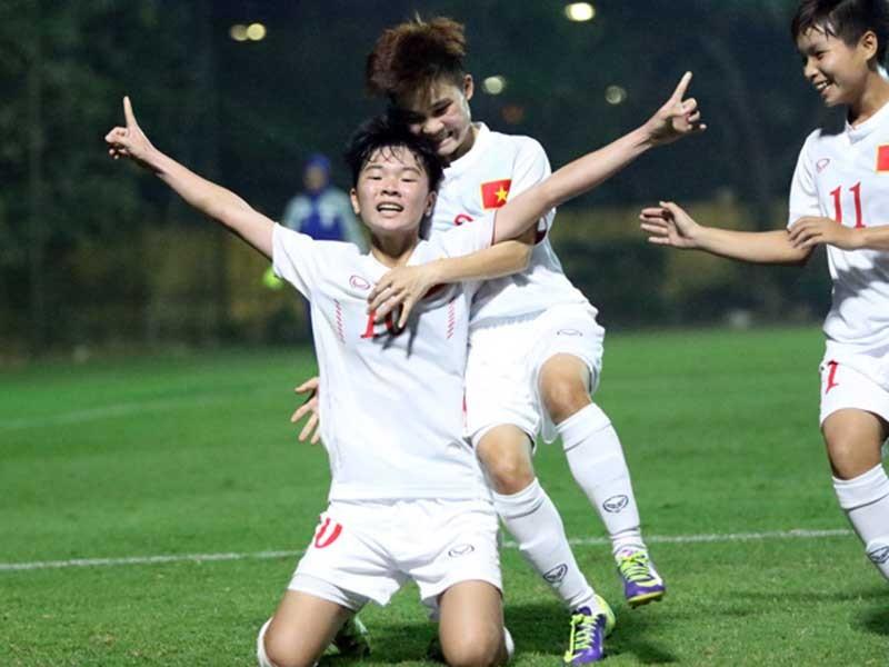Tuyển nữ U-19 Việt Nam giành vé dự giải U-19 châu Á - ảnh 1