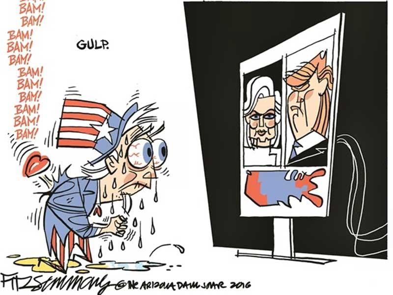 Ngày trước bầu cử Mỹ: Chưa thể đoán thắng-thua!  - ảnh 1