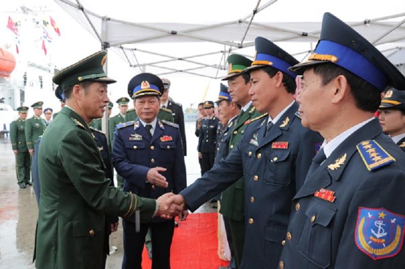 Cảnh sát biển Trung Quốc lần đầu thăm Việt Nam - ảnh 1