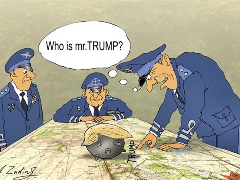 NATO lo đối phó ông Donald Trump - ảnh 1