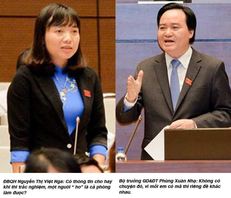 Bộ trưởng GD&ĐT liên tục nhận lỗi trước Quốc hội - ảnh 1