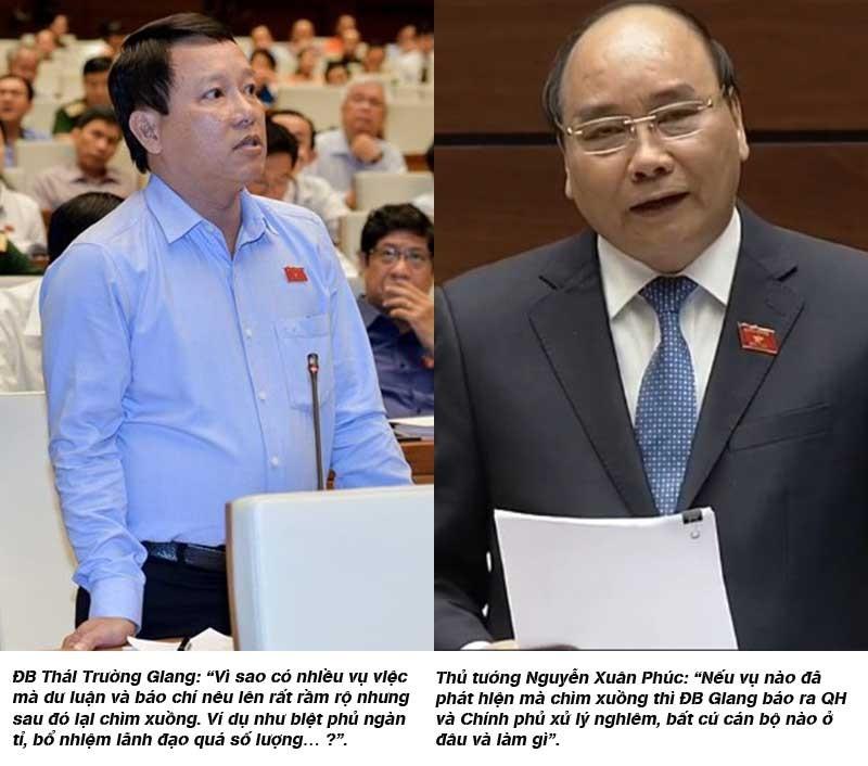 Thủ tướng: Với tham nhũng, không để chìm xuồng! - ảnh 1