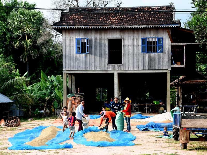 Campuchia du ký - bài 2: Dấu ấn nhà sàn  - ảnh 1